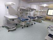 صحة الغربية : الانتهاء من تطوير شبكة الغازات بمستشفى كفر الزيات .. صور