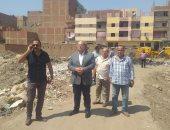 نائب محافظ الجيزة يقود حملة إزالة للتعديات على الأراضى الزراعية بقرية ترسا