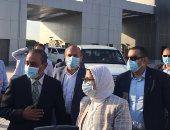وزيرة الصحة توجه بسرعة الانتهاء من تطوير مستشفى الإسماعيلية العام.. صور