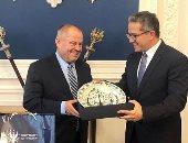 وزير السياحة يستعرض صورا جديدة خلال اجتماعاته فى بولندا