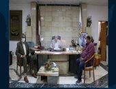 محافظ جنوب سيناء يعقد لقاءا موسعا مع الجهاز التنفيذى لمتابعة المشروعات الجارية
