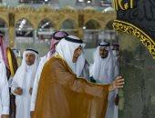 مراسم غسل الكعبة المشرفة مع التقيد بإجراءات احترازية بسبب كورونا.. صور