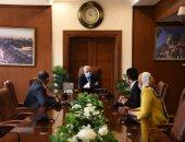 محافظ بورسعيد يتابع أعمال رفع كفاءة الصرف الصحى