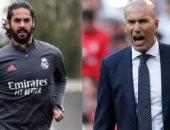 3 أسباب وراء تمسك زيدان ببقاء إيسكو في ريال مدريد