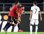 كل أهداف الخميس.. تعادل قاتل لإسبانيا أمام ألمانيا والزمالك يقهر بيراميدز