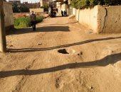 غرفة تفتيش بدون غطاء منذ سنة فى قرية أبورقبة بالمنوفية تهدد الأهالى