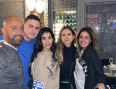 أحمد السقا مع نيللى كريم وعائلته فى أحدث ظهور