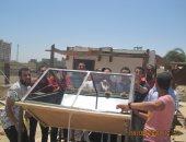 مشروع تخرج طلاب كلية التكنولوجيا بسوهاج لتحلية المياه بالمقطر الشمسى