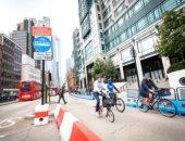 لندن تزيد ممرات الدراجات لضمان التباعد الاجتماعى للوقاية من كورونا