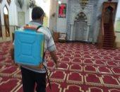 أوقاف الإسكندرية تواصل تعقيم وتطهير المساجد قبل صلاة الجمعة..صور