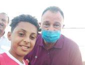 قصة الطفل عبدالله فوزى بعد انضمامه للنادى الأهلى.. كان بينام حاضن الكورة