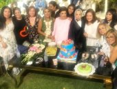 رجاء الجداوى فى آخر احتفال بعيد ميلادها.. فيديو وصور