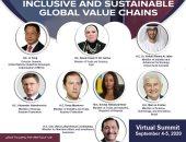 وزيرة التجارة تلقى كلمة مصر بالمؤتمر الافتراضى للقمة العالمية للصناعة