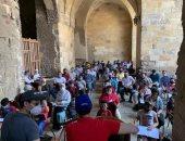 عودة مدرسة الإنشاد الدينى بقصر الأمير طاز بعد توقفها بسبب أزمة كورونا