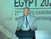 لقطة اليوم.. رئيس اتحاد كرة اليد يتراجع عن تصريح تفويت مباراة فرنسا بأمر مبارك