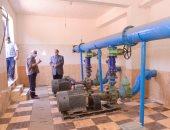 محافظ أسيوط يتفقد محطة معالجة الحديدة والمنجنيز بقرية بنى بمركز الفتح