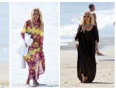 اعرفى إزاى تلبسى القفطان المغربى على طريقة مصممة الأزياء راشيل زوى