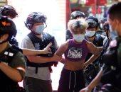 صور.. مطاردات فى شوراع هونج كونج بين الشرطة ومحتجين على تأجيل الانتخابات