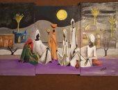 """""""مجدى البنا"""" يشارك اليوم السابع مجموعة من لوحاته بالألوان المائية والزيتية"""
