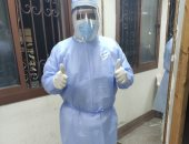 """الجيش الأبيض.."""" أحمد"""" ممرض بمستشفى الباطنة جامعة طنطا فى مواجهة كورونا"""