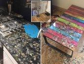 الحمام يغزو منزل طالب ويسبب فوضى كبيرة نتيجة غيابه 5 شهور .. اعرف القصة