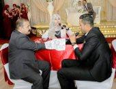 صور.. أول مأذونة فى مصر تعقد قرآن صديقتها وفاء قطب مأذونة الإسماعيلية