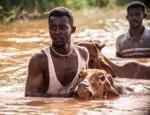 فيديو.. ارتفاع عدد المتضررين فى السودان نتيجة للفيضانات لأكثر من 770 ألف شخص