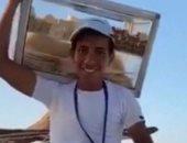 """بائع الفريسكا وفى بوعده.. """"إبراهيم ناصر"""" حصل على امتياز فى أولى طب.. فيديو"""