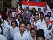 محافظ مطروح يطلق شعلة أولمبياد الطفل المصرى 2020