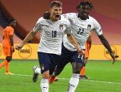 كل أهداف الإثنين.. إيطاليا تتخطى هولندا بدورى الأمم وثنائية الأهلى فى الحدود