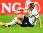 هولندا ضد إيطاليا.. شكوك حول إصابة زانيولو بالرباط الصليبى للمرة الثانية