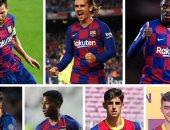ميسي يتقدم 7 لاعبين فى ترسانة كومان الهجومية مع برشلونة