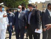 محافظة القاهرة تبدأ تسكين 1280 أسرة من أهالى سيدى فرج بمشروع المحروسة.. صور