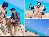 """""""سونيا وهشام"""" 38 سنة زواج ناجح.. جمعهم الحب والصيد وتشجيع الأهلى"""
