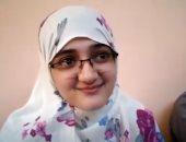 """ياسمين حاصلة على 99.15%: """"دخلت طب الإسكندرية ونفسى أبقى طبيبة غلابة"""""""
