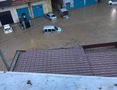 خسائر مادية وغلق عدة من الطرق بالعاصمة الجزائرية بسبب الأمطار غزيرة