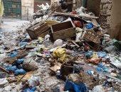 شكوى من انتشار القمامة ومخلفات البناء فى حى بحرى بالإسكندرية