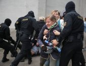 الداخلية البيلاروسية تعتقل 20 شخصا من المشاركين بمظاهرة احتجاجية فى مينسك