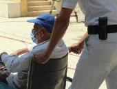 صور.. الشرطة تسطر مشاهد حضارية بجولة إعادة انتخابات الشيوخ