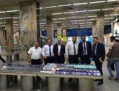 ضبط 950 قطعة مستحضرات تجميل مع راكبة قادمة من إيطاليا بمطار القاهرة