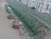 مطالب بتغطية مصرف مركز صقر بالشرقية بعد تحوله لمجمع للقمامة