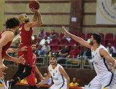 فرص الأهلى للتتويج بدورى السلة بعد الهزيمة من الاتحاد
