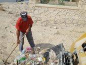 تحرير 5 مخالفات تموينية ورفع 7 أطنان قمامة بمناطق وسط سيناء
