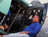 """محمود عبد المغنى يتعرض لحادث سير ضمن أحداث مسلسل """"شارع 9"""".. صورة"""
