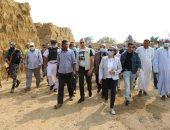 صور .. وزيرة البيئة : تجميع ثلاثة آلاف طن قش أرز بالشرقية حتى الآن