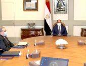 """السيسي يوجه بتعزيز التعاون لتحقيق جدارة مشروع """"مستقبل مصر"""" بأعلى المعايير..فيديو"""