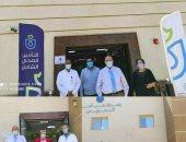 فريق الهيئة العامة للإعتماد بيتابعون تجهيزات الوحدة الصحية بمنشية النوبة بالأقصر