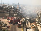 روسيا اليوم: اندلاع حريق فى مرفأ بيروت