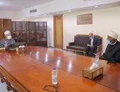 رئيس علماء السنة بالصومال يؤكد نسير على خطى الأزهر فى نشر سماحة الإسلام