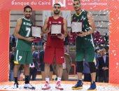 اختيار إسماعيل أحمد  أفضل لاعب في نهائى دورى سوبر السلة